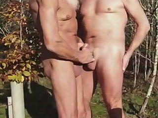 2 Mature Man At The Park.