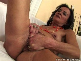 Horny Granny Masturbate And Squirt