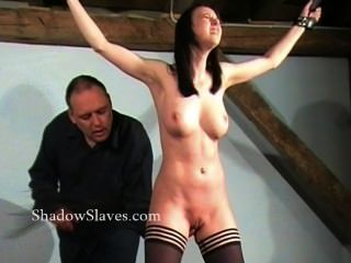 Hellpain Whipping Of Tied Emily Sharpe In Extreme Spanking And Humiliating